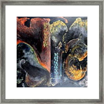 Opus Framed Print by Farzali Babekhan