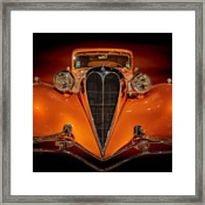 Orange Dream Framed Print by Susan Rissi Tregoning