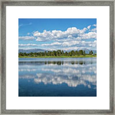 Pagosa Summer Reflections Framed Print by Jason Coward