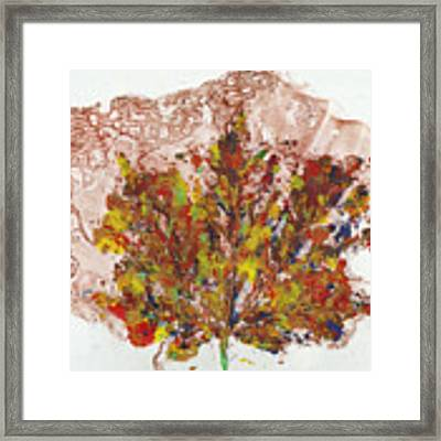 Painted Nature 3 Framed Print by Sami Tiainen