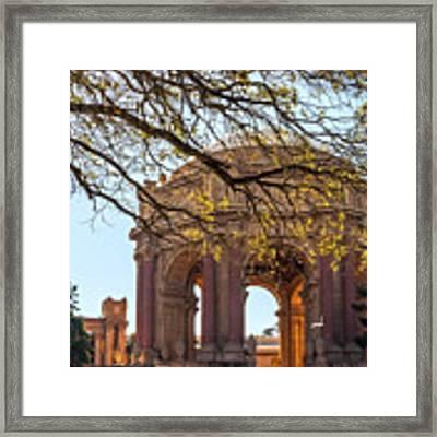 Palace Rotunda II Framed Print by Kate Brown