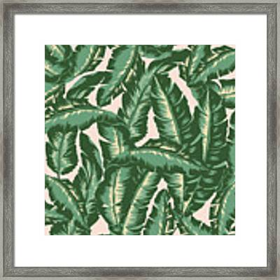 Palm Print Framed Print by Lauren Amelia Hughes