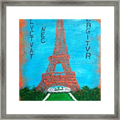 Paris Framed Print by Sascha Meyer