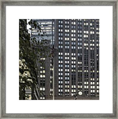 Park Avenue Met Life Nyc Framed Print by Juergen Held