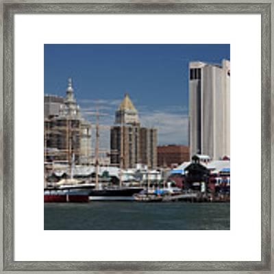 Pier 17 Nyc Framed Print by Ken Barrett