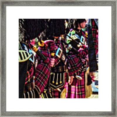 Pipers Three Framed Print by Samuel M Purvis III