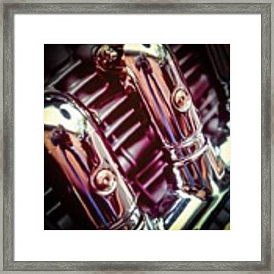 Pipes Framed Print by Samuel M Purvis III