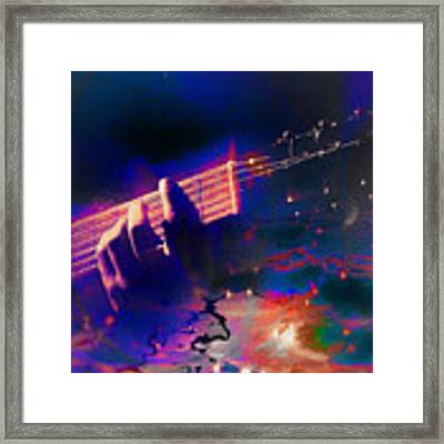 Play Me A Melody - Painting Framed Print by Ericamaxine Price