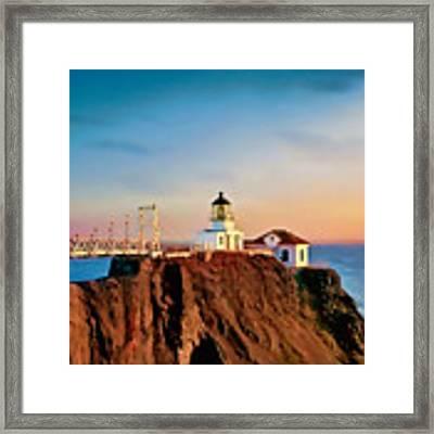 Point Bonita Lighthouse Framed Print by Douglas MooreZart