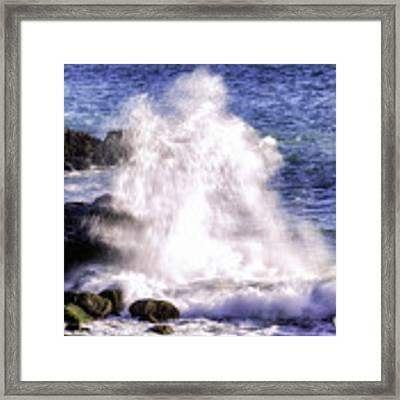 Point Mugu Explosion Framed Print by William Havle