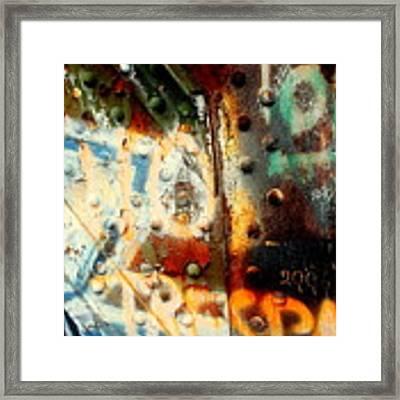Post Industrial Framed Print by Farzali Babekhan