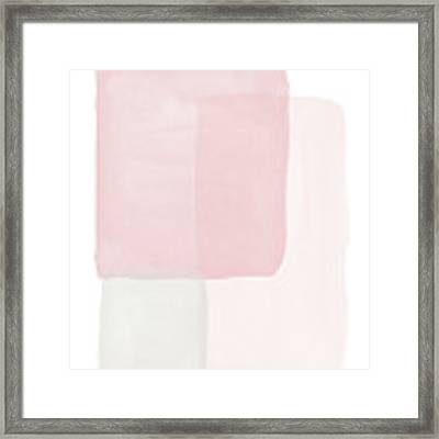 Pretty Pink Boxes 2- Art By Linda Woods Framed Print by Linda Woods