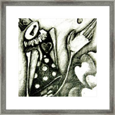 Queen Of Hearts Framed Print by Delight Worthyn