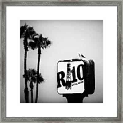 R-10 Social House Framed Print by Michael Hope