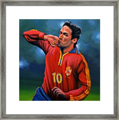 Raul Gonzalez Blanco Framed Print by Paul Meijering
