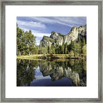 Reflecting On Yosemite Framed Print by Chris Cousins