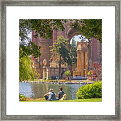 Relaxing At The Palace Framed Print by Kate Brown