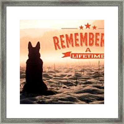 Remembering A Lifetime Framed Print by Kathy Tarochione