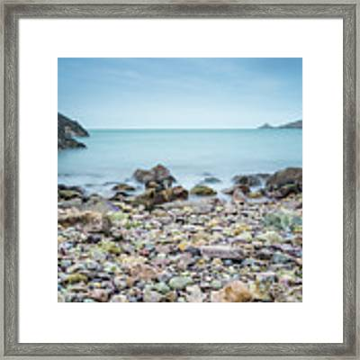 Rocky Beach Framed Print by James Billings