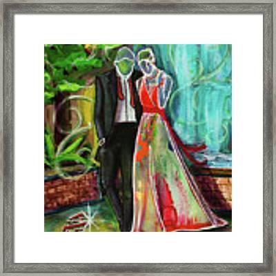 Romance Each Other Framed Print by TM Gand