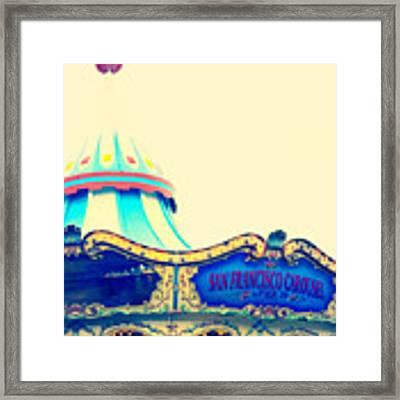 San Francisco Pier 39 Carousel Framed Print