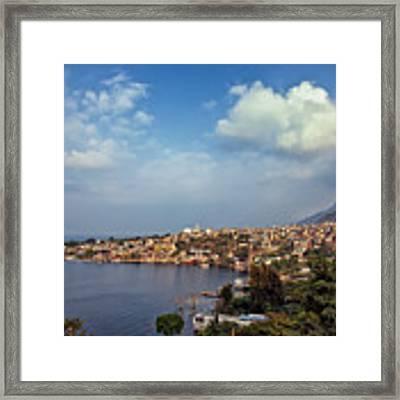 San Pedro La Laguna, Lake Atitlan, Guatemala Framed Print by Sam Antonio Photography