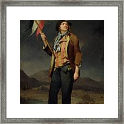 Sans Culotte Framed Print by Louis Leopold Boilly
