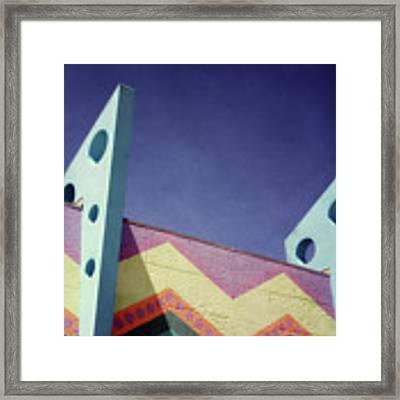 Santa Cruz Boardwalk - Photography  By Linda Woods Framed Print