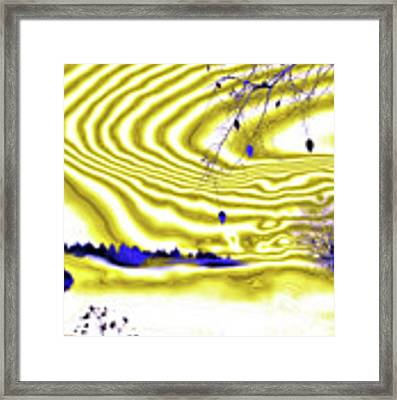 Satin And Lace Framed Print by Valerie Anne Kelly