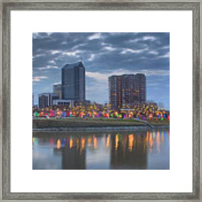 Scioto Morning 3567 Framed Print by Brian Gryphon