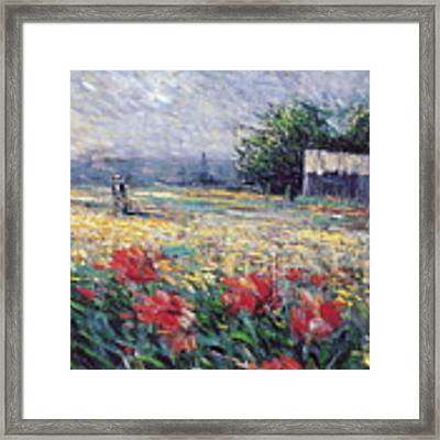 Serenety Framed Print by Rosario Piazza
