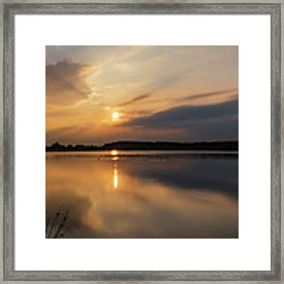 Serenity Framed Print by Nick Bywater