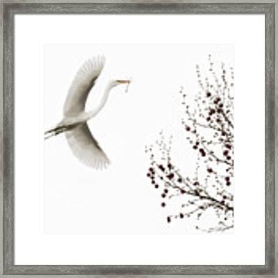 Simplicity Framed Print by Melinda Hughes-Berland