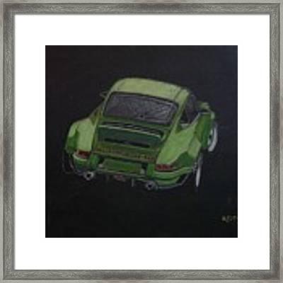 Singer Porsche 2 Framed Print by Richard Le Page