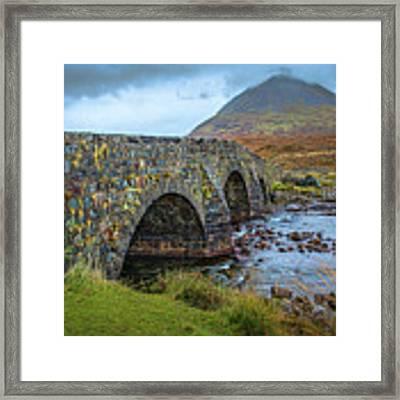 Sligachan Bridge View #h4 Framed Print by Leif Sohlman