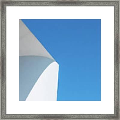 Soft Blue Framed Print by Eric Lake