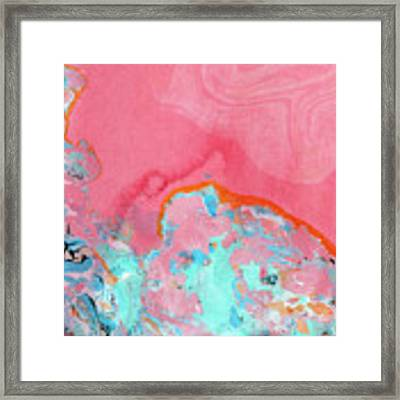 Somewhere New- Abstract Art By Linda Woods Framed Print by Linda Woods