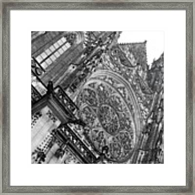 St. Vitus Cathedral 1 Framed Print by Matthew Wolf