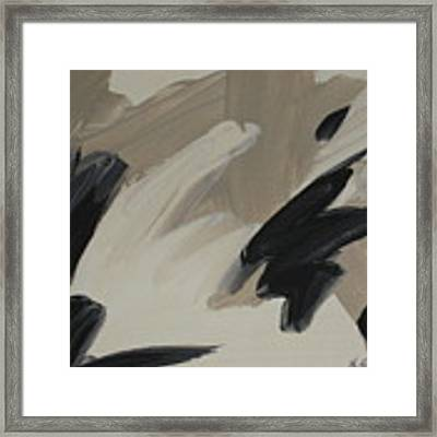Staccato Framed Print by Outre Art  Natalie Eisen