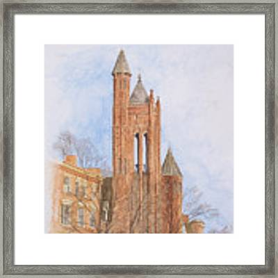 State Street Church Framed Print by Dominic White