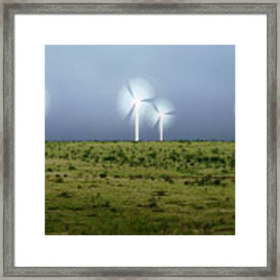 Storms And Halos Framed Print by Scott Cordell
