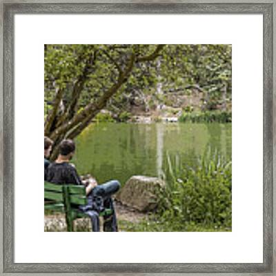 Stow Lake Framed Print by Kate Brown