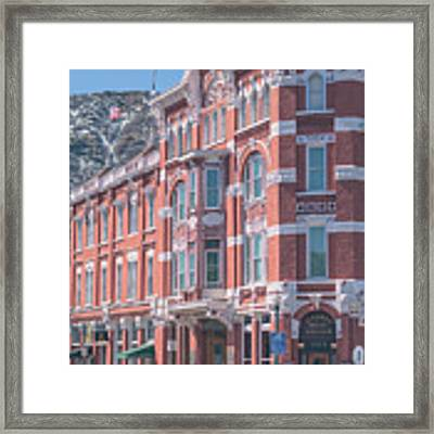 Strater Hotel Framed Print by Jason Coward