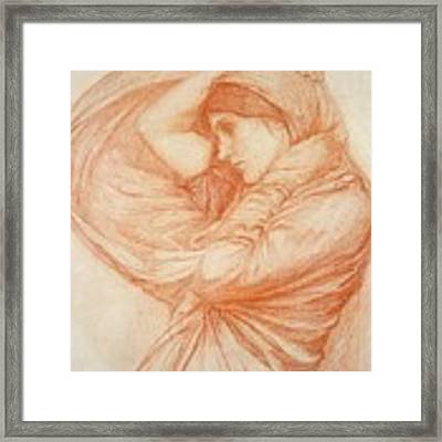 Study For Boreas Framed Print