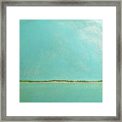 Subtle Atmosphere - Triptych 1 Of 3 Framed Print by Jaison Cianelli