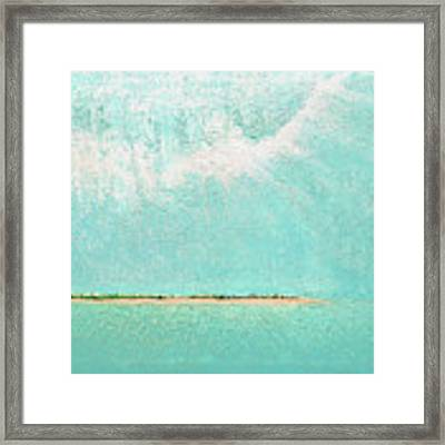 Subtle Atmosphere - Triptych 2 Of 3 Framed Print by Jaison Cianelli