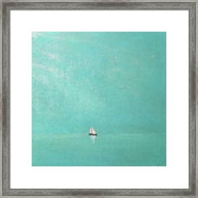 Subtle Atmosphere - Triptych 3 Of 3 Framed Print by Jaison Cianelli