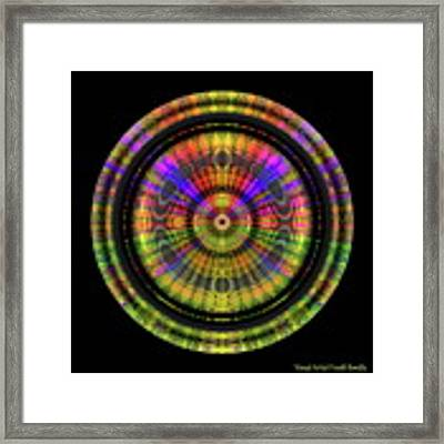 Sunset 3, Series II Framed Print by Visual Artist Frank Bonilla