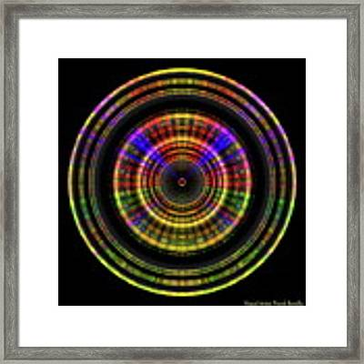 Sunset 5, Series II Framed Print by Visual Artist Frank Bonilla