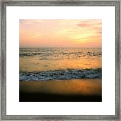 Sunset On Captiva Framed Print by AnnaJanessa PhotoArt